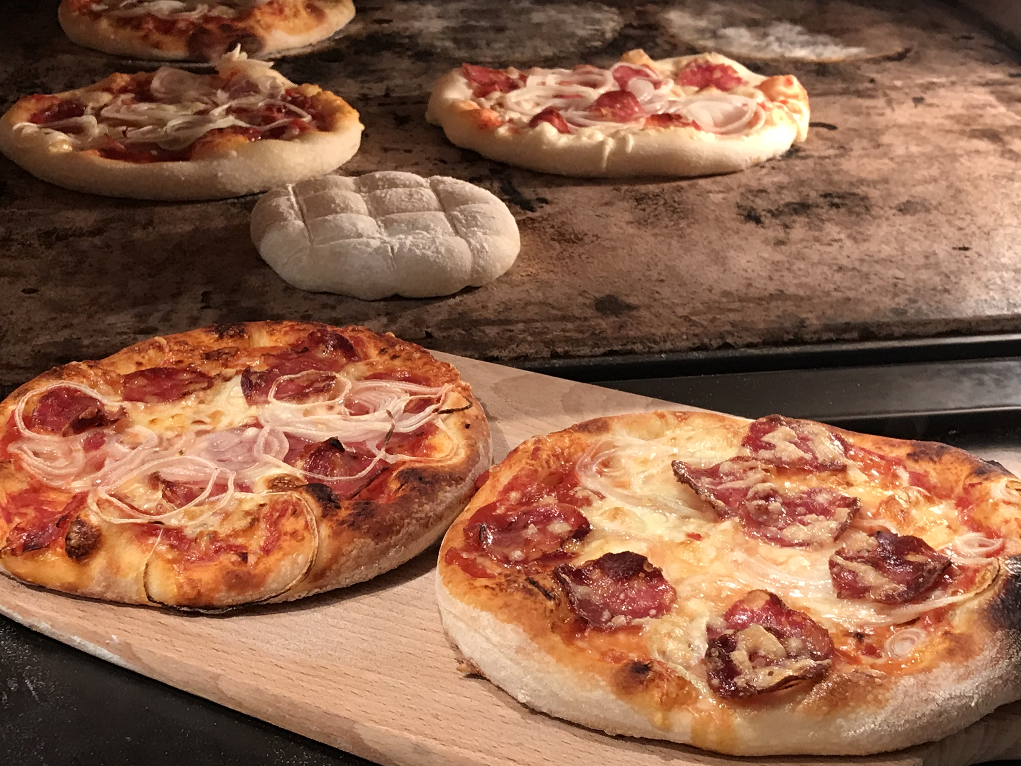Pizza zur Halloweenparty